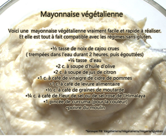 mayonnaise VG