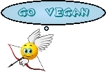 smiley ange go vegan