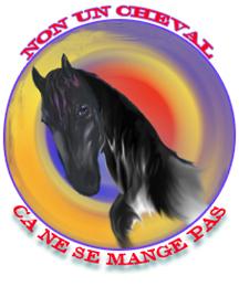 Non , un cheval ça ne se mange pas