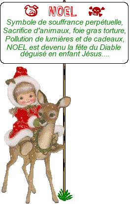 Noel sacrifice animal